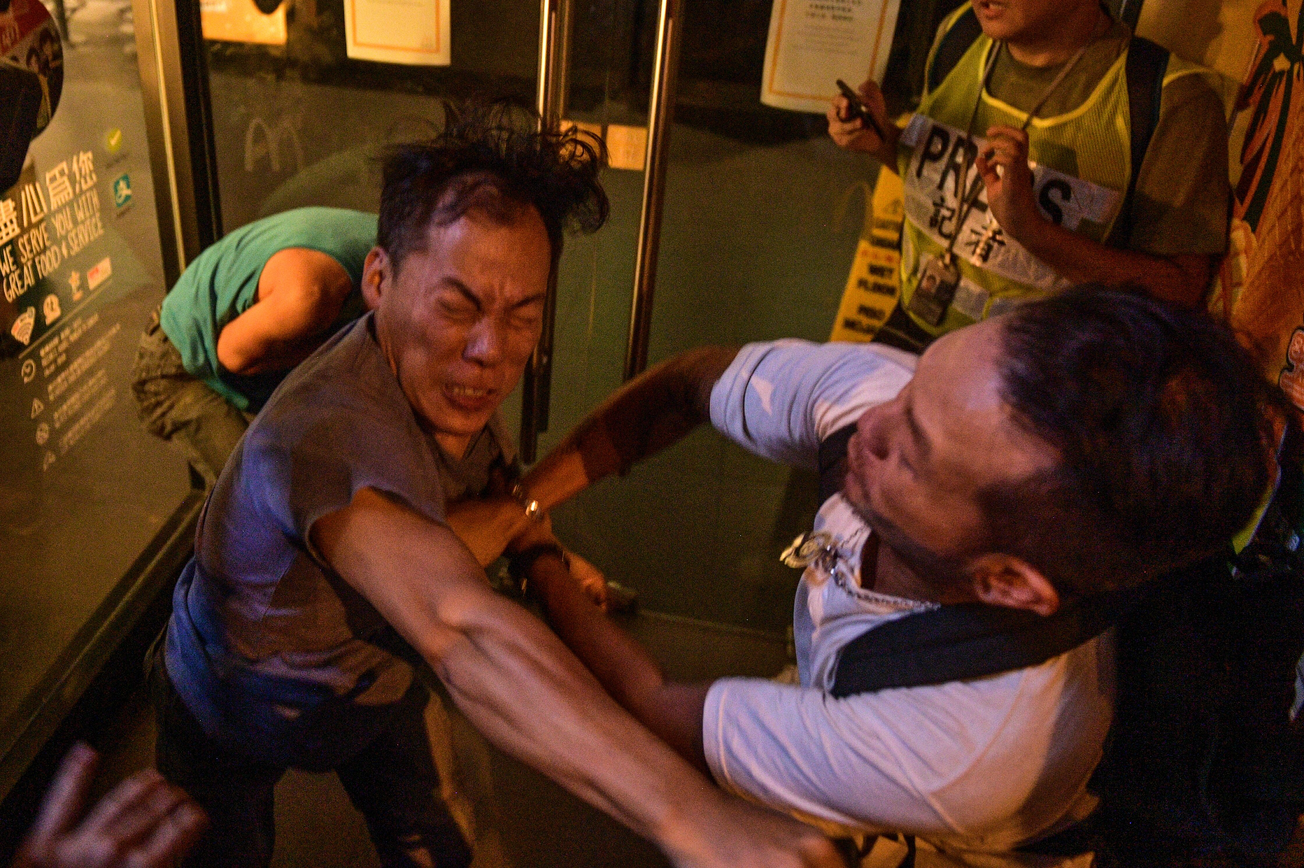 Clashes Break Out on Hong Kong Streets After Mass Protest Defying Police Ban