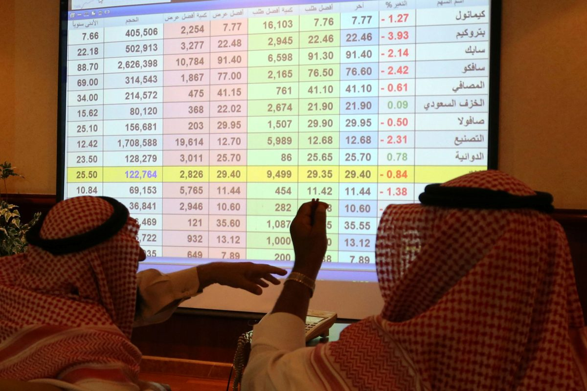 Saudi stock after oil facility attacked