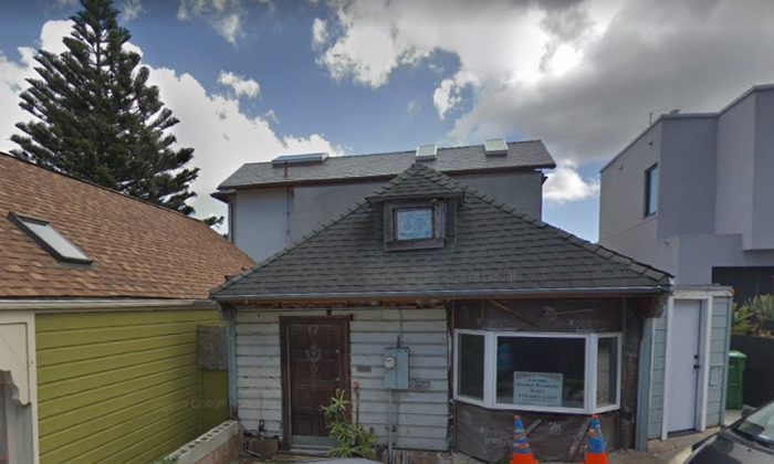 The home, on 17 Laidley St., was listed in March for $675,000, but the agent took if off the market in August. (Google Street)