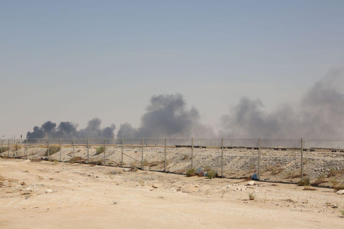 Saudi arabia oil facility attacked