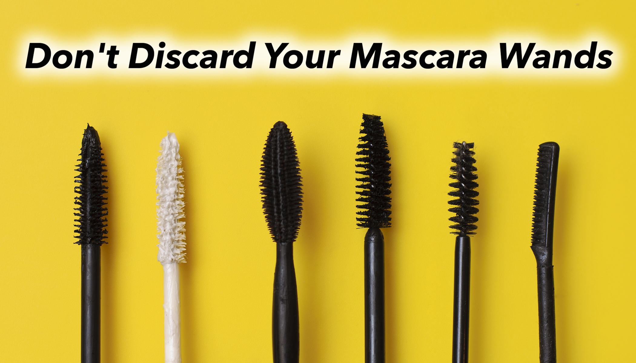 Give Your Used Mascara Wands a Second Chance and Help Save Wildlife