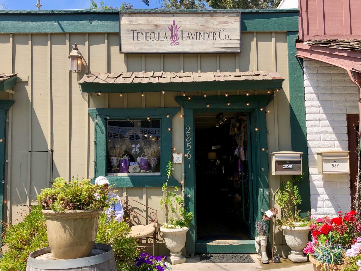 Old Town Temecula Lavender Co by Tracy Kaler