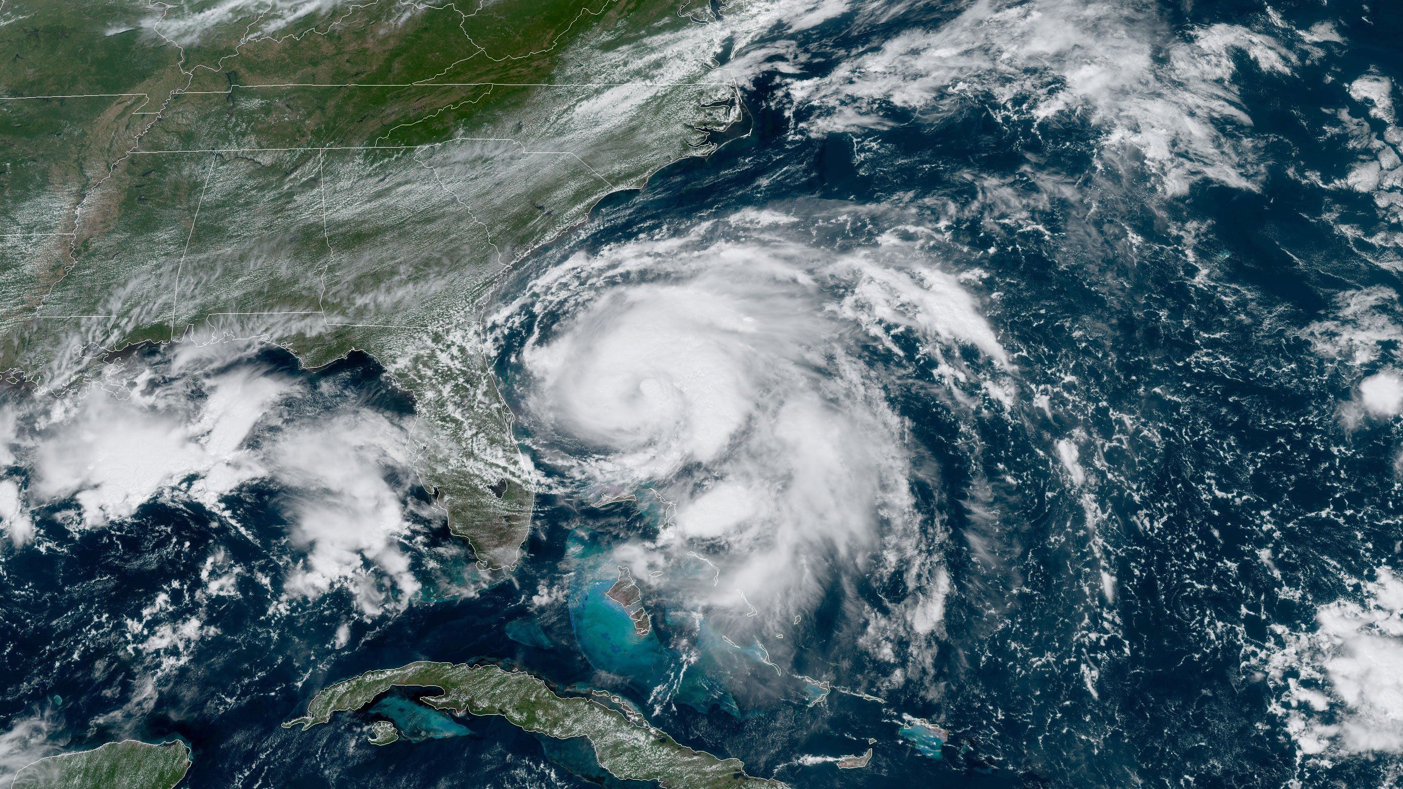Hurricane Humberto Forms in Atlantic, Moving Away From Land