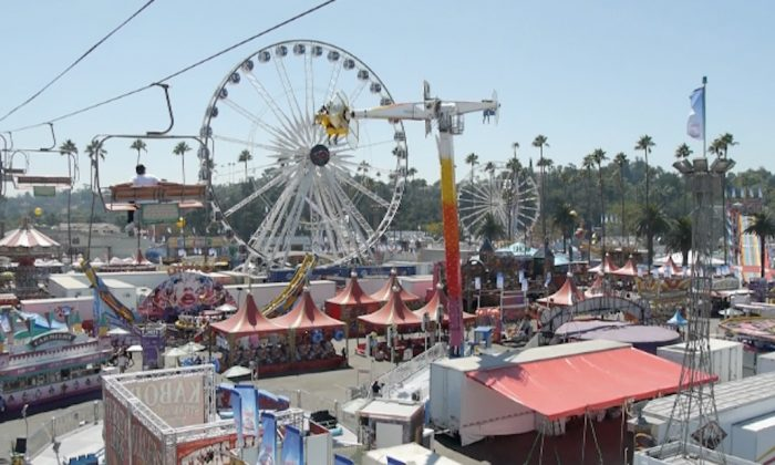 LA County Fair in Pomona Fairplex will be held from Aug. 31 to Sept. 23. (Mandy Huang/The Epoch Times, photo Sept. 8, 2019.)