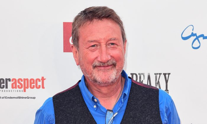 "Steven Knight attends the premiere of the 5th season of ""Peaky Blinders"" at Birmingham Town Hall on July 18, 2019 in Birmingham, England. (Eamonn M. McCormack/Getty Images)"