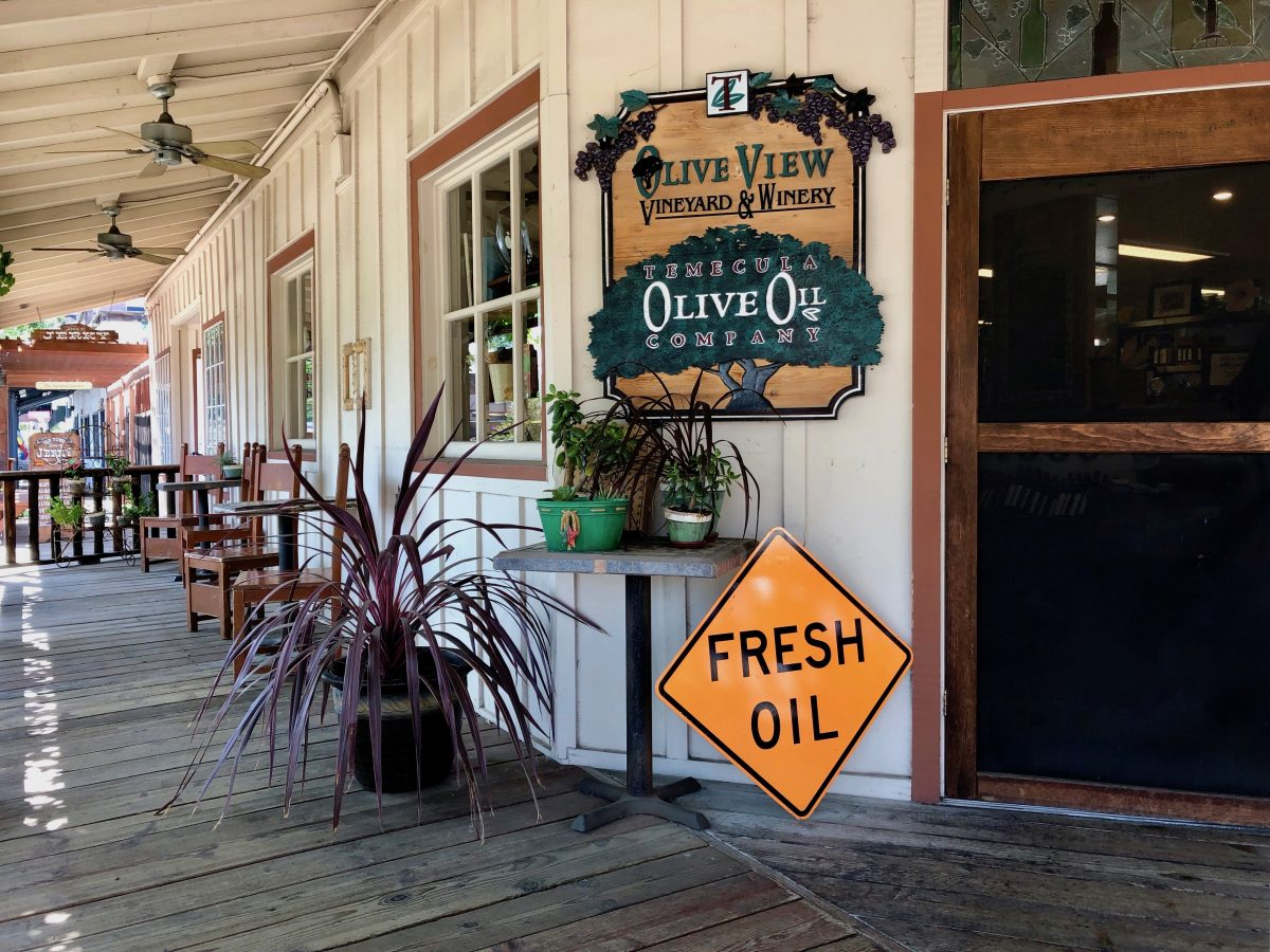 Temecula Olive Oil Company shop Old Town by Tracy Kaler
