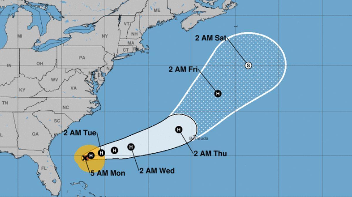 Bermuda to get hit by Hurricane Humberto