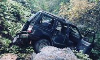 5 People Injured After SUV Plunges 200 Feet Off California Cliff