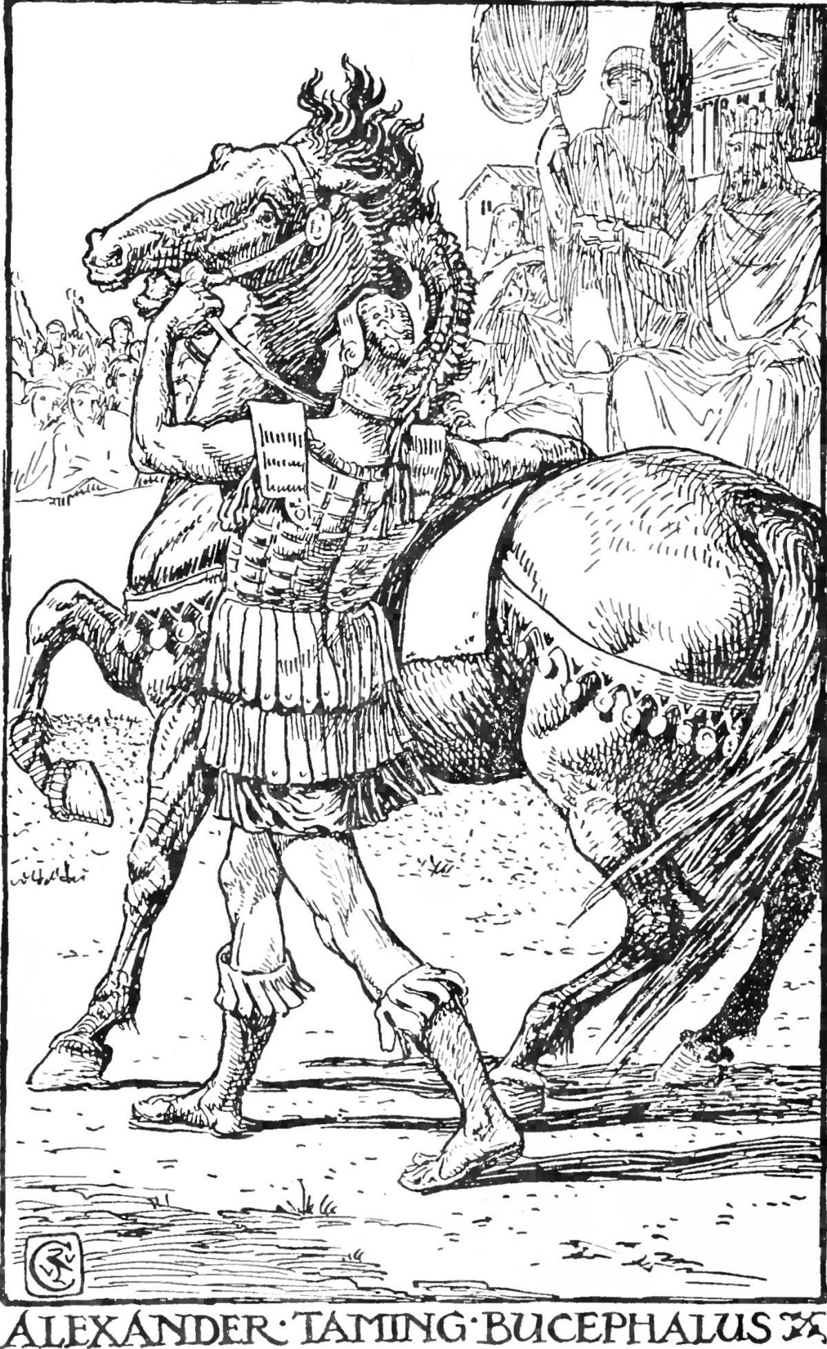 Children's_Plutarch_-_Alexander_Taming_Bucephalus