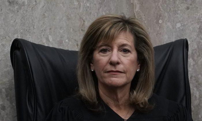 U.S. District Judge Amy Berman Jackson at the U.S. District Court in Washington on April 13, 2018.  (Alex Wong/Getty Images)