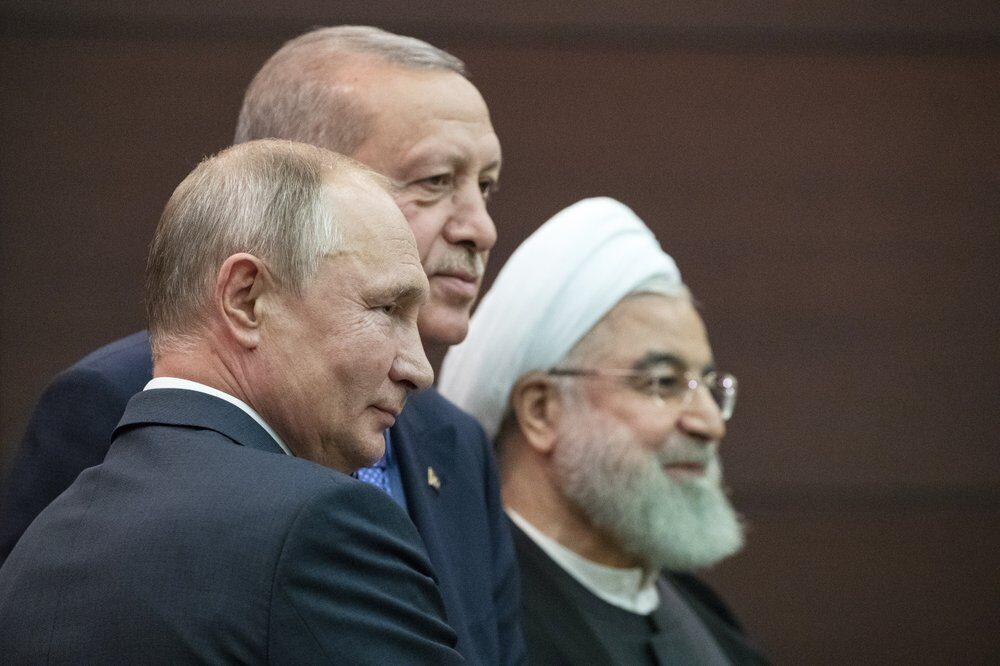 Russia, Turkey, Iran:presidents