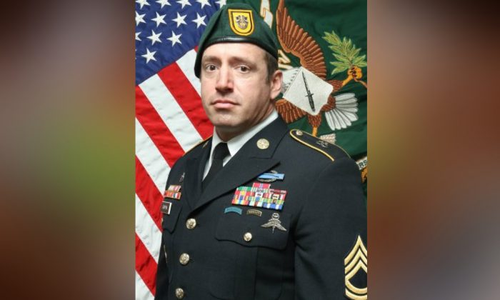 Sgt. 1st Class Jeremy W. Griffin was killed in Afghanistan on Sep. 16, 2019. (Photo Courtesy USASOC Public Affairs)