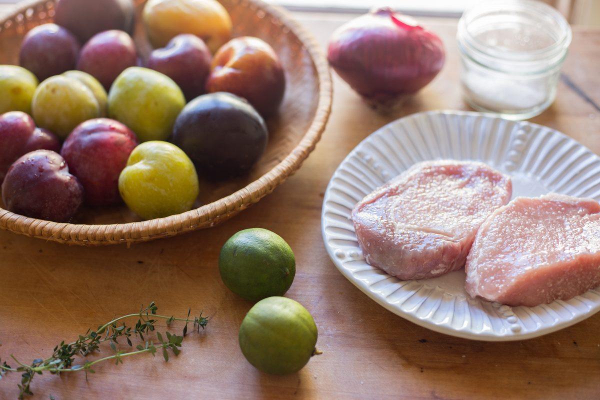 ingredients pork chops