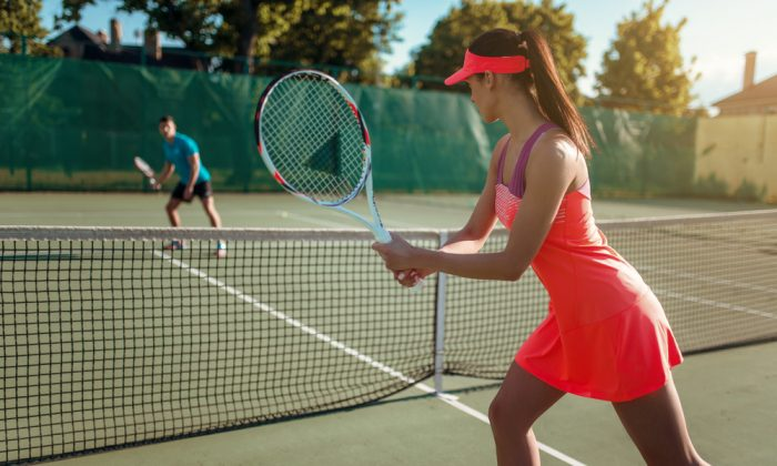 Like in a tennis match, people in a relationship act and react to each other. (Shutterstock)