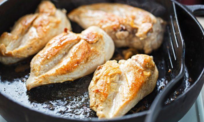 Sautéed chicken. (Shutterstock)