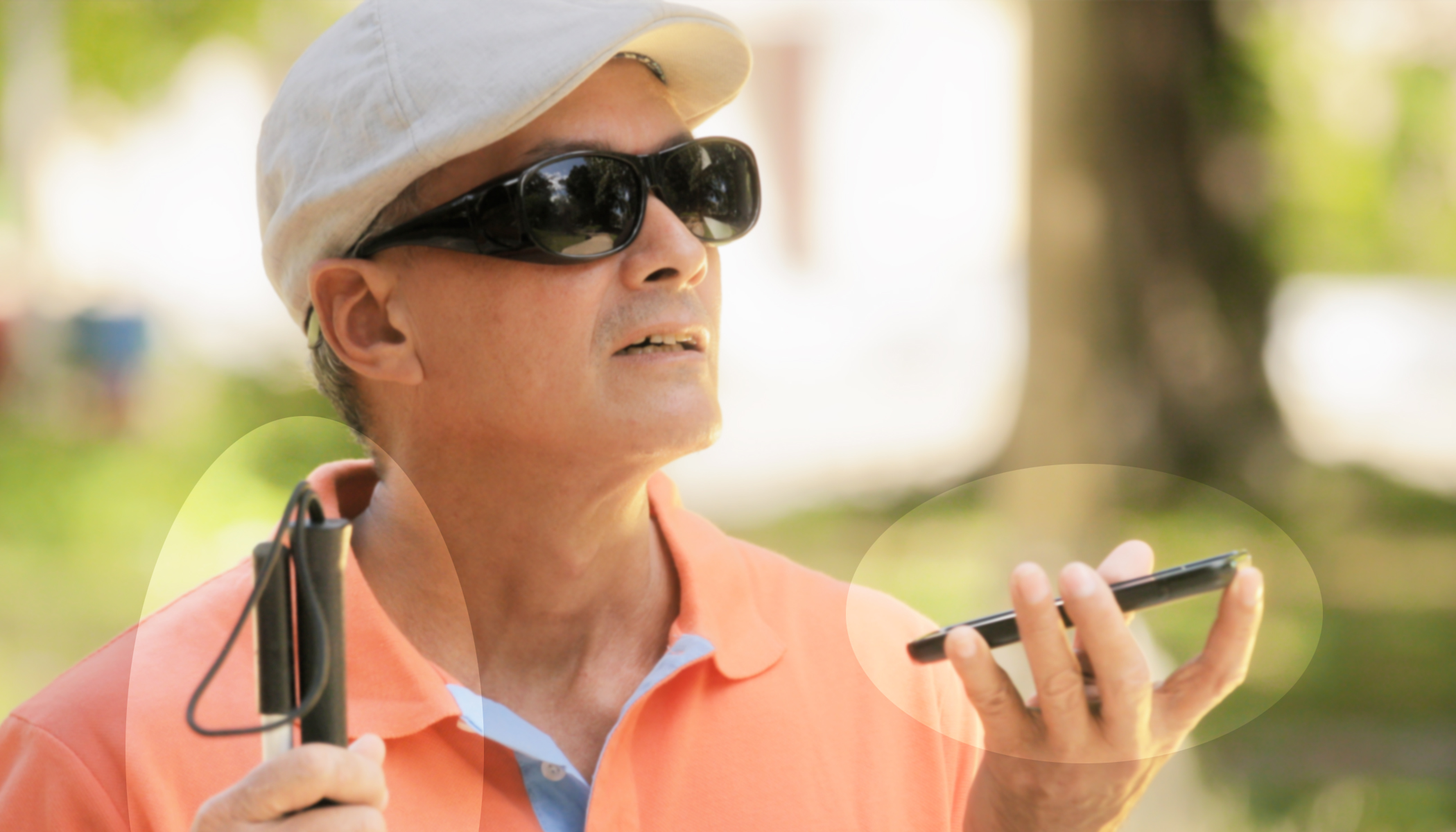 Visually Impaired Man Invents 'Smart Cane' That Uses Google Maps to Help Blind People