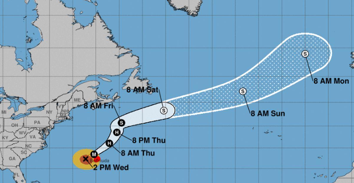 Hurricane Humberto on Track to Swipe Bermuda: NHC