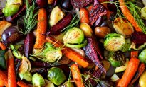 Roasted Root Vegetable Salad With Fresh Herb Dressing