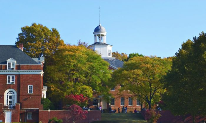 The Annapolis, Md., campus. (St. John's College)