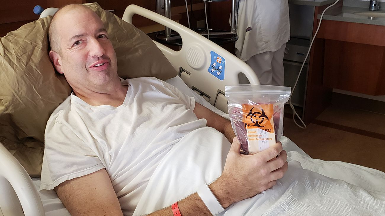 Ohio Man Heads to ER for Bug Bite, Receives Cancer Diagnosis Instead