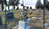 Dad Turns Disabled Son's Tombstone Into a Touching Masterpiece