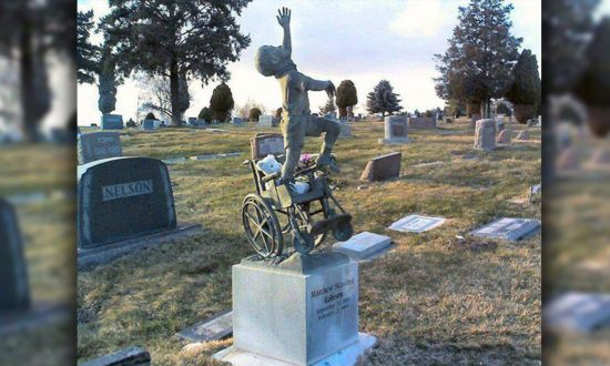 Dad Turns Disabled Son's Tombstone Into a Touching Masterpiece After He Dies in Sleep