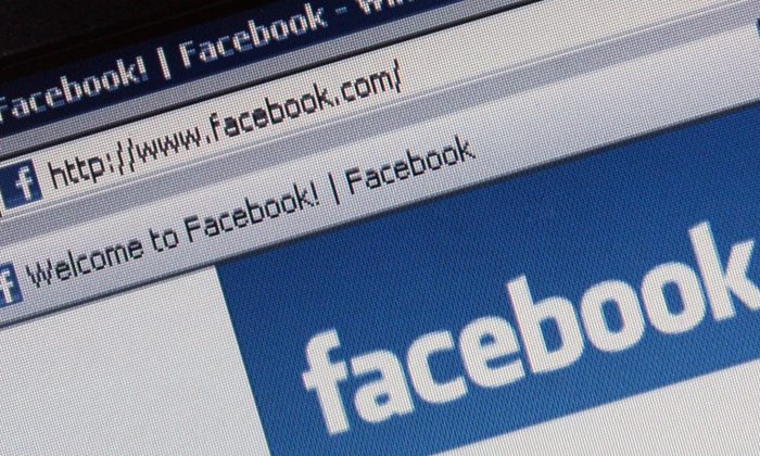 The social networking site Facebook is displayed on a laptop screen in London, England, on March 25, 2009. (Dan Kitwood/Getty Images)