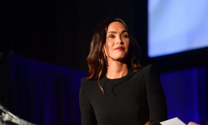 Megan Fox and Anna Behlmer attend the 55th Annual Cinema Audio Society Awards at InterContinental Los Angeles Downtown in Los Angeles on Feb. 16, 2019. (Matt Winkelmeyer/Getty Images)