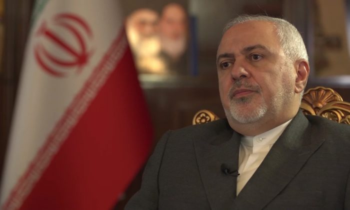 Iran's top diplomat said Tehran would not start discussions with the Trump administration before full sanctions relief. (CNN)