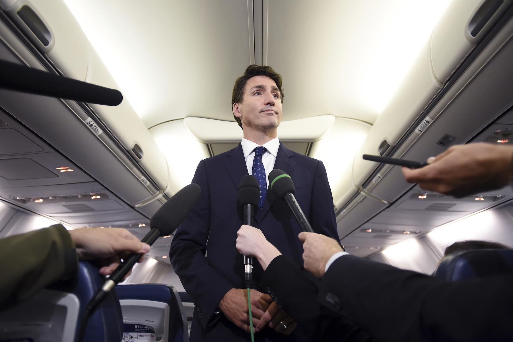 Canada Trudeau Brownface Photo