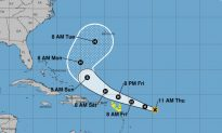 Hurricane Jerry Forms in Atlantic, Hurricane Center Says