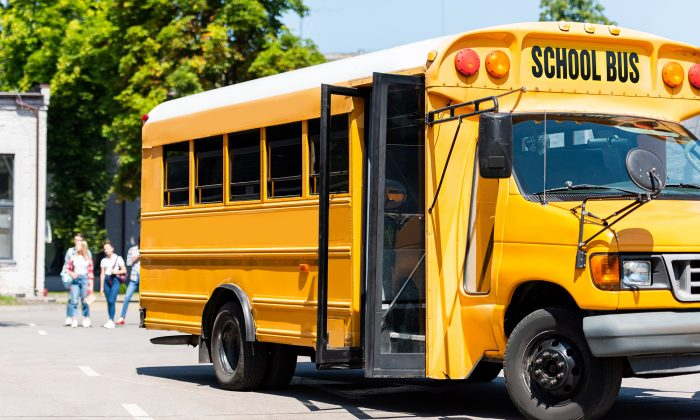 A stock photo of a school bus (Illustration - Shutterstock)