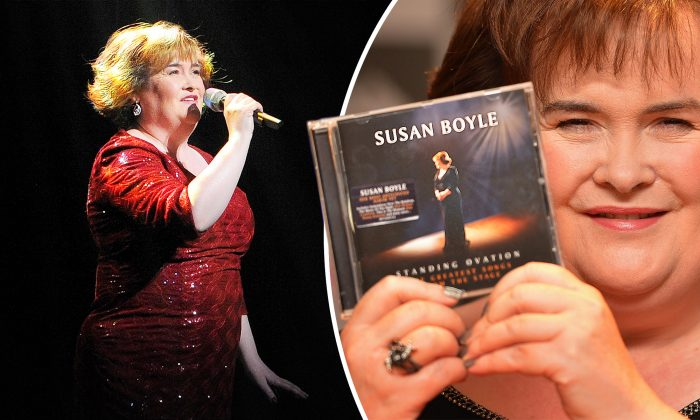 (L) (ANDREW YATES/AFP/Getty Images); (R) (Susan Boyle | Facebook)