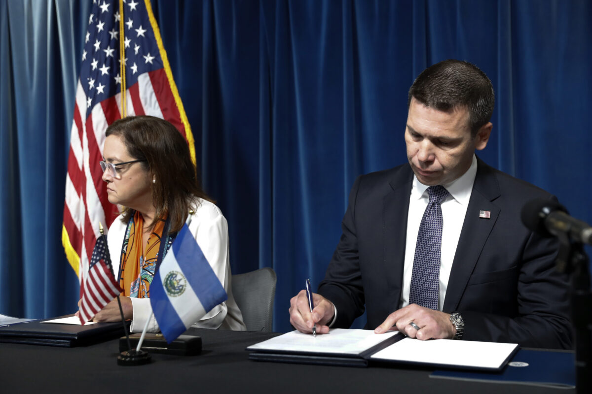 El Salvador Agreement Must Be Condemned Immediately