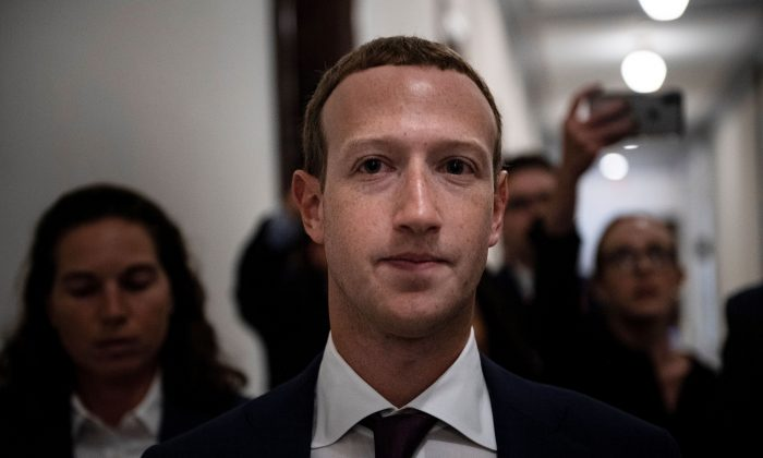 Facebook CEO Mark Zuckerberg in Capitol Hill, Washington, on Sept. 19, 2019 (Brendan Smialowski/AFP/Getty Images)