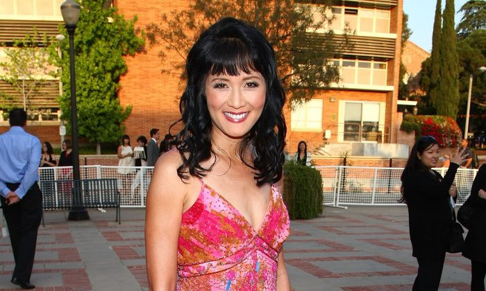 Actress Suzanne Whang arrives at the 2008 JCPenney Asian Excellence Awards in Los Angeles, California, on April 23, 2008. (Alberto E. Rodriguez/Getty Images)