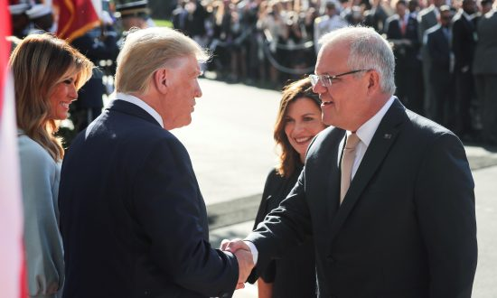 Trump Welcomes Australia's Prime Minister, Cementing Strong Trade, Security Ties