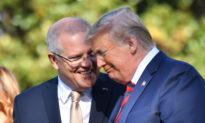 Trump Calls Morrison Australia's 'Man of Titanium'