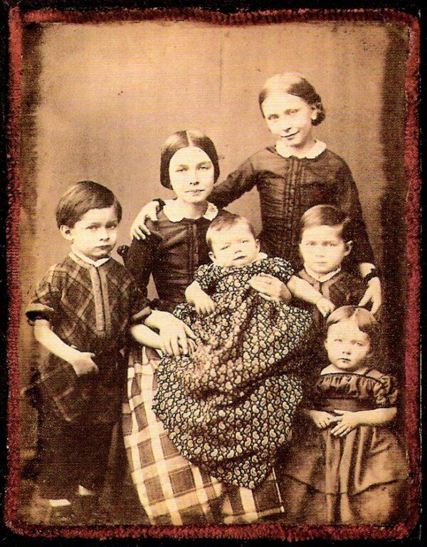 Children family portrait