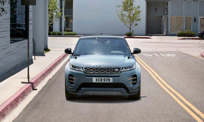 2020 Range Rover Evoque in Nolita Grey. (Courtesy of Land Rover)