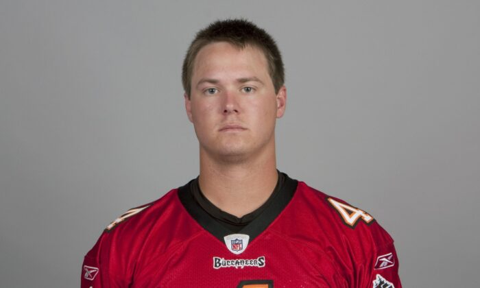 In this handout image provided by the NFL, Jevan Snead of the Tampa Bay Buccaneers NFL football team is seen posing for a portrait taken in 2010 in Tampa Bay, Florida. This image reflects the Tampa Bay Buccaneers active roster of 2010 when this image was taken. (Photo by NFL via Getty Images)