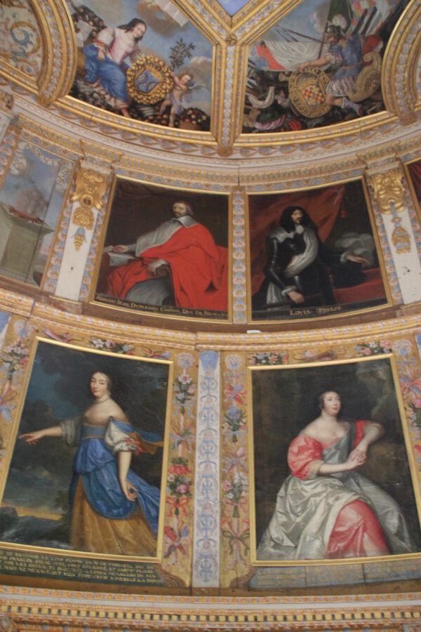 Paintings at Château