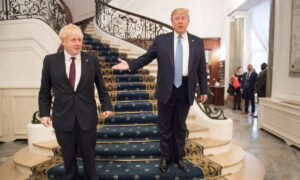 Trump Praises British Prime Minister for Calling for New Iran Nuclear Deal