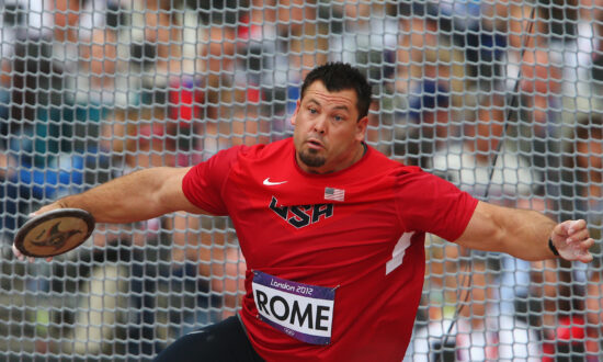 Jarred Rome, Discus Champ and Two-Time Olympian, Dies at 42: Report