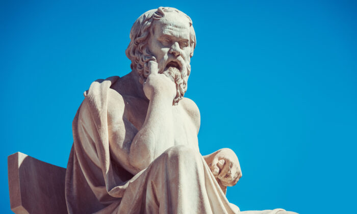 Statue of Socrates in front of the University of Athens in Greece. (anastasios71 /Shutterstock)