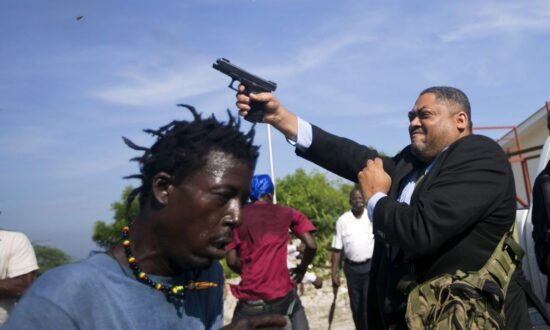 Senator Fires Gun Outside Haitian Senate, Two Injured