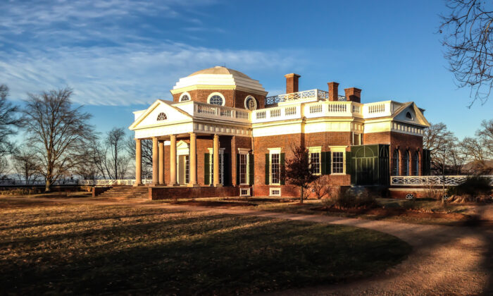 Over the course of 38 years, Thomas Jefferson would turn a two-bedroom house into a piece of architectural wonder—Monticello. (Shutterstock)