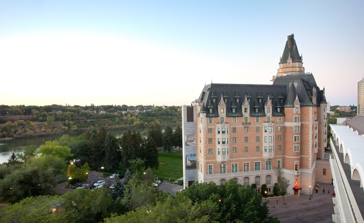 View of the Delta Bessborough Hotel