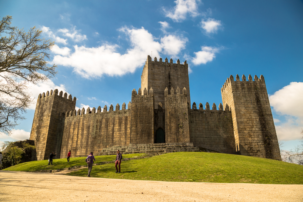 Guimarães Castle.