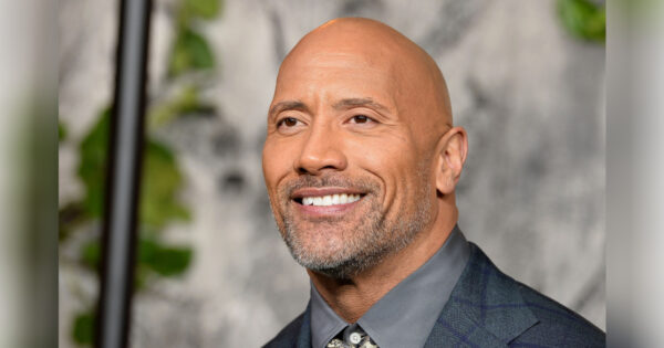 Dwayne Johnson attends the 'Jumanji